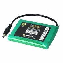 LiteGear LitePower NiMH Battery 12V, 2.2 AH, Flat Pack