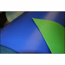 Rosco Blue / Green Chroma Floor Reversible for Stage and Studio