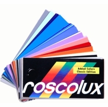 "Rosco Roscolux Lighting Gel Swatchbook 3""x6"""
