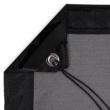 Modern Studio 12'x12' Silk (China Black) with Bag