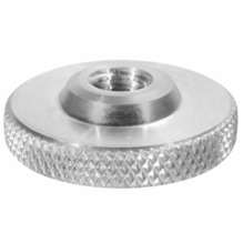Modern Studio Knurled Knob with 1/4-20 Female