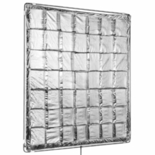 Modern Studio 4x4 Silver Reflector Slip-On Shiny Board
