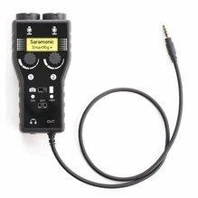 Saramonic SmartRig+ 2-Ch XLR/3.5mm Microphone Audio Mixer