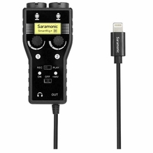 Saramonic SmartRig+Di w/ Lightning Connector iOS) - 2-Ch XLR/3.5mm Audio Mixer