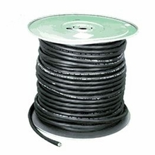 12/3 SOW-A Extra Hard Service 600V 250' Roll Black Extension Cord Cable
