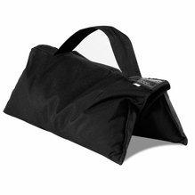 35lb Sandbag Black with Black Handle