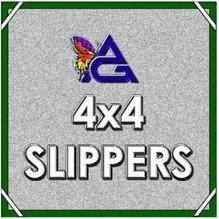 Advantage 4x4 Bleached Muslin Slipper w/Bag