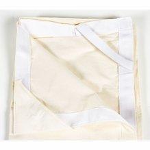 Advantage 4x4 Unbleached Muslin / Natural Slipper w/Bag