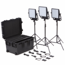 Astra 6X LED Traveler Trio Kit V-Mount