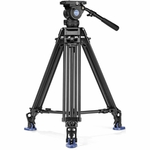 Benro BV-8 75mm Video Tripod Kit - Max Load 17.6 lbs