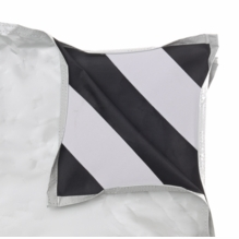 "Chimera White /  Black Panel 24""x24""  5174"
