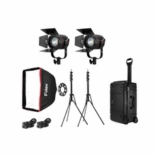 Fiilex K201 Pro Plus LED Travel Kit (2X-P360 Pro Plus)