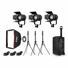 Fiilex K301 Pro Plus Travel LED Light Kit (3 x P360 Pro Plus)