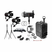 Fiilex X381 Gaffer Kit 3 Light LED Kit