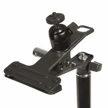 Ikan Spring Clamp w/ EI-A05 Stand Adapter (E-Image) w/ Ball Mount