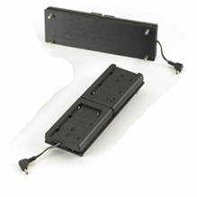 LED MiniPlus DV Battery Adapter Plate for Panasonic Batteries