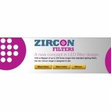 Lee Zircon LED Lighting Gels
