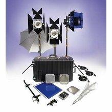 Lowel DP3 Jr. Light Kit with 3 1,000W DP Lights  DPT-93Z