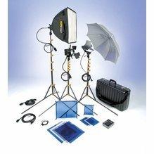 Lowel DV Core 250 Light Kit w/ Soft Bag DVC-91LB