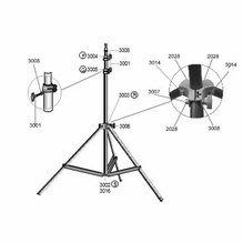 Lowel KS Light Stand Parts