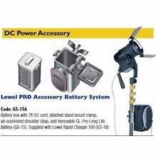 Lowel Pro LED DC Battery System