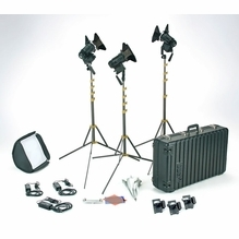 Lowel Pro Power LED 3 Light Kit - Daylight