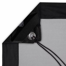 Modern Studio 12'x12' 1/4 Stop Silk (Artificial Black) with Bag
