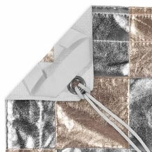 Modern Studio 12x12 Checkerboard Silver / Gold Reflector w/ Bag