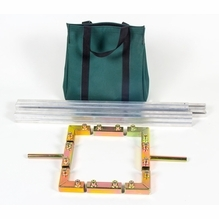 Modern Studio 4x4 Butterfly Frames, Rags, Components
