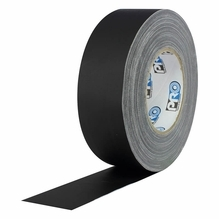 "Pro AV Cable Tape Black 2"" x 55 Yds"