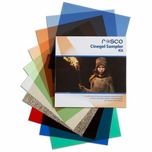 "Rosco Cinegel Sampler Gel Filter Pack (15) Sheets 12""x12"""