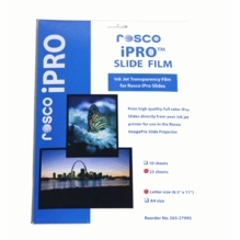 Rosco Image Pro iPro Slide Film 25 Sheet Pack