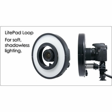 Rosco LitePad Loop LED Ring Light