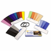 Rosco Strobist Collection Lighting Gels Flash Pack 1.5 x 5.5 in