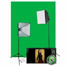 Westcott  Illusions uLite Green Screen Photo Lighting Kit: Lite