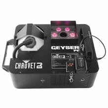 Chauvet Geyser P6 Pyrotechnic Effect Fog and LED Wash Light In One