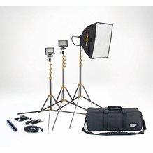 Lowel SlimLight Rifa LED Blender 2 Light Kit