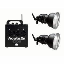 Profoto Acute2R 1200 Value Pack (2) D4 & (1) Acute2R 1200