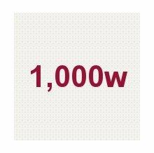 1,000W