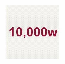 10,000W