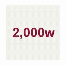 2,000W