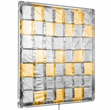 Modern Studio 4x4 Silver / Gold Reflector Slip-On Shiny Board