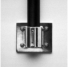 """1 1/4"""" Speed Rail Horizontal Flange, Aluminum, Modern Studio Equipment, 52"""