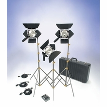 Lowel Action 3 Light Omni Light Kit with Soft Case O1-92LBZ