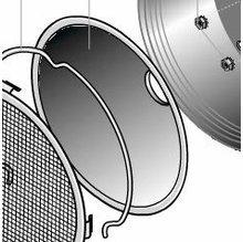 Lowel DP Light #1 Reflector Part D2-15