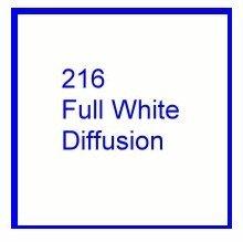 Rosco E Color 216 Full White Diffusion Gel Roll
