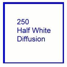 Rosco E Color 250 Half White Diffusion Roll