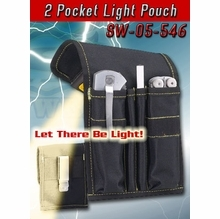 2 Pocket Light Pouch