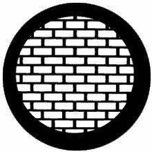 Rosco Bricks 77527 Standard Steel Gobo