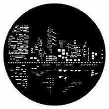 Rosco City Lights 2 79023 Standard Steel Gobo